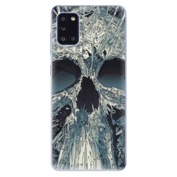 Odolné silikonové pouzdro iSaprio - Abstract Skull - Samsung Galaxy A31