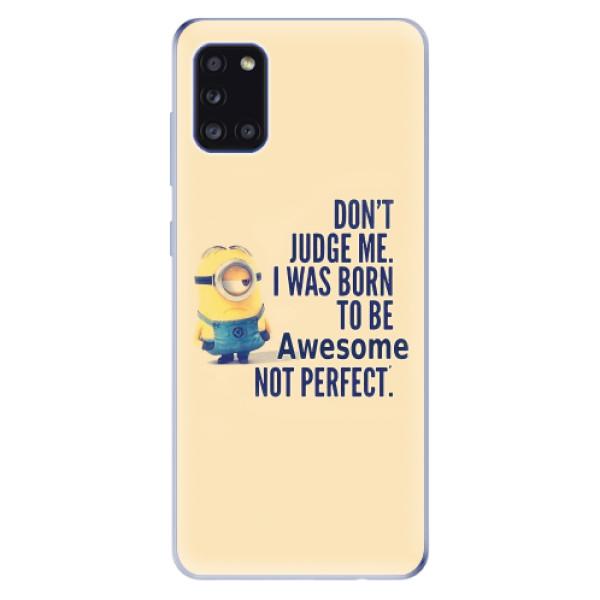 Odolné silikonové pouzdro iSaprio - Be Awesome - Samsung Galaxy A31