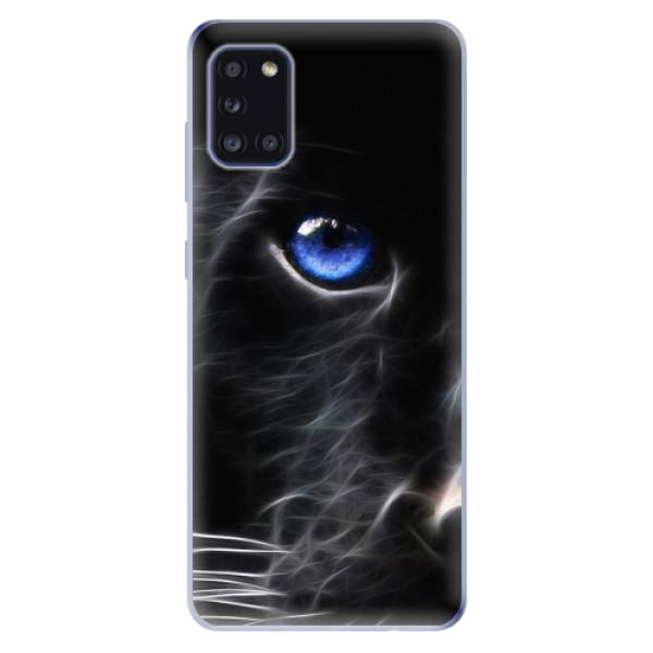 Odolné silikonové pouzdro iSaprio - Black Puma - Samsung Galaxy A31