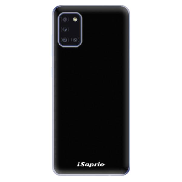 Odolné silikonové pouzdro iSaprio - 4Pure - černý - Samsung Galaxy A31