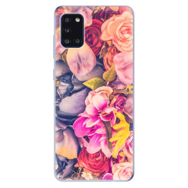 Odolné silikonové pouzdro iSaprio - Beauty Flowers - Samsung Galaxy A31