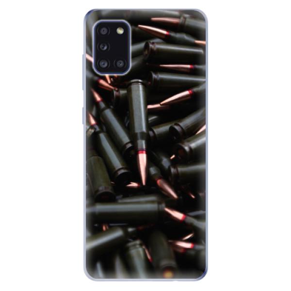 Odolné silikonové pouzdro iSaprio - Black Bullet - Samsung Galaxy A31