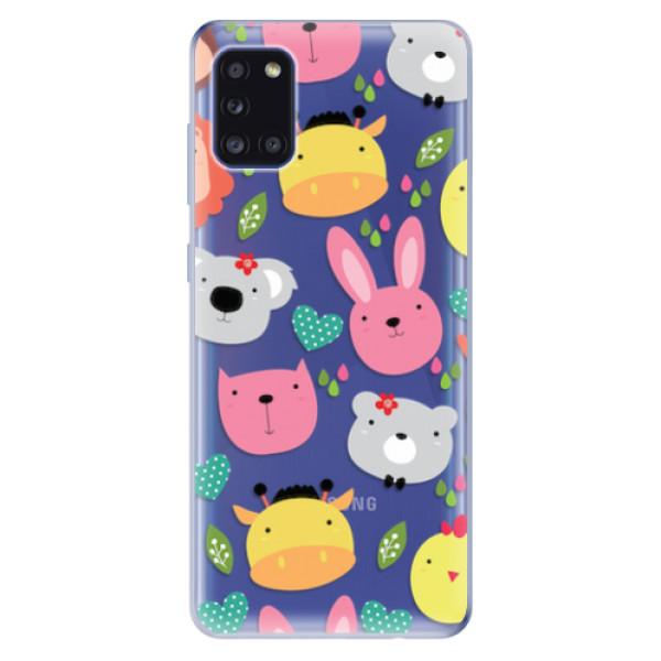 Odolné silikonové pouzdro iSaprio - Animals 01 - Samsung Galaxy A31