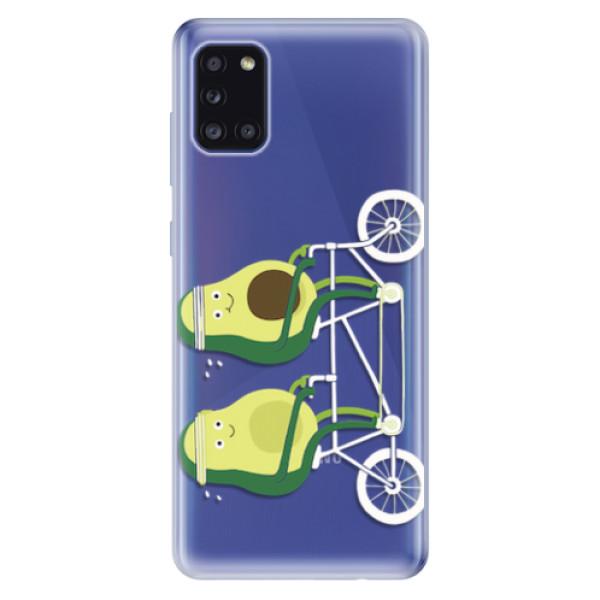 Odolné silikonové pouzdro iSaprio - Avocado - Samsung Galaxy A31