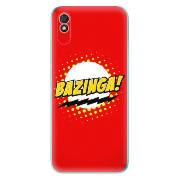Odolné silikonové pouzdro iSaprio - Bazinga 01 - Xiaomi Redmi 9A