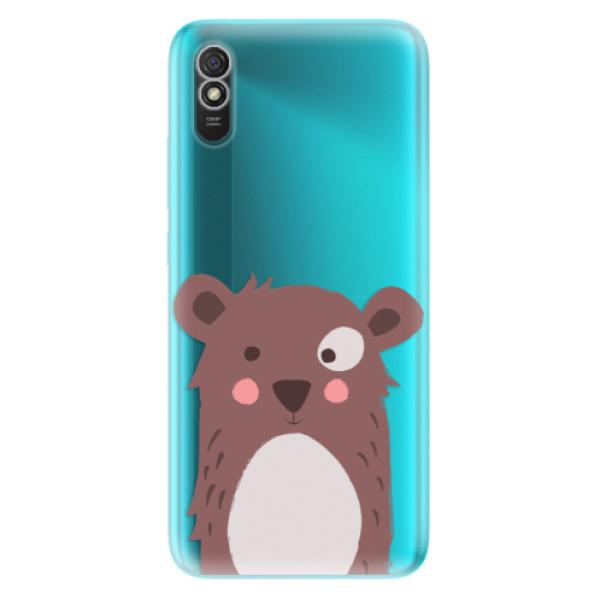 Odolné silikonové pouzdro iSaprio - Brown Bear - Xiaomi Redmi 9A