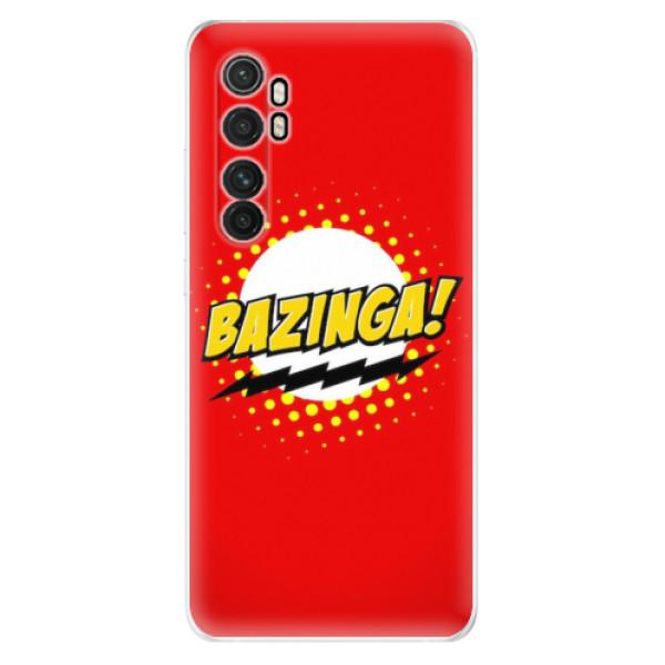 Odolné silikonové pouzdro iSaprio - Bazinga 01 - Xiaomi Mi Note 10 Lite
