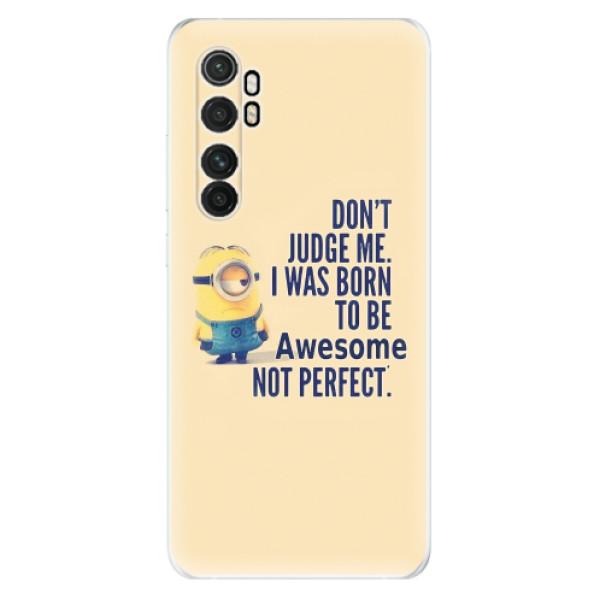 Odolné silikonové pouzdro iSaprio - Be Awesome - Xiaomi Mi Note 10 Lite