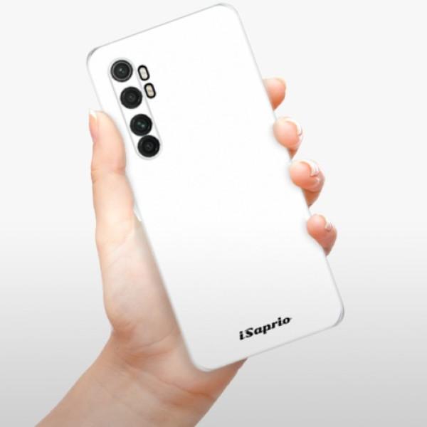 Odolné silikonové pouzdro iSaprio - 4Pure - bílý - Xiaomi Mi Note 10 Lite