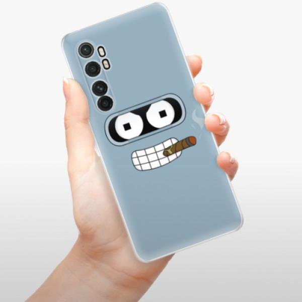 Odolné silikonové pouzdro iSaprio - Bender - Xiaomi Mi Note 10 Lite