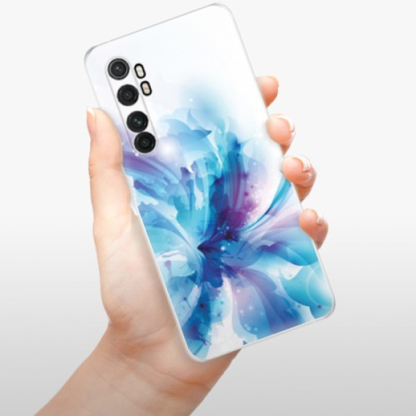Odolné silikonové pouzdro iSaprio - Abstract Flower - Xiaomi Mi Note 10 Lite