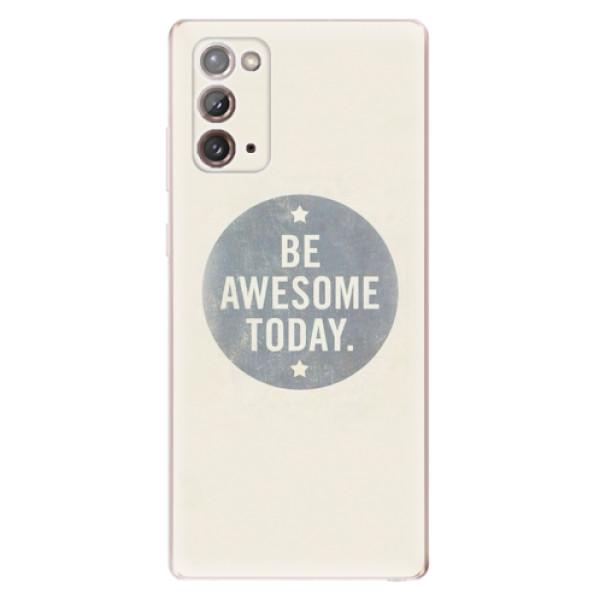 Odolné silikonové pouzdro iSaprio - Awesome 02 - Samsung Galaxy Note 20