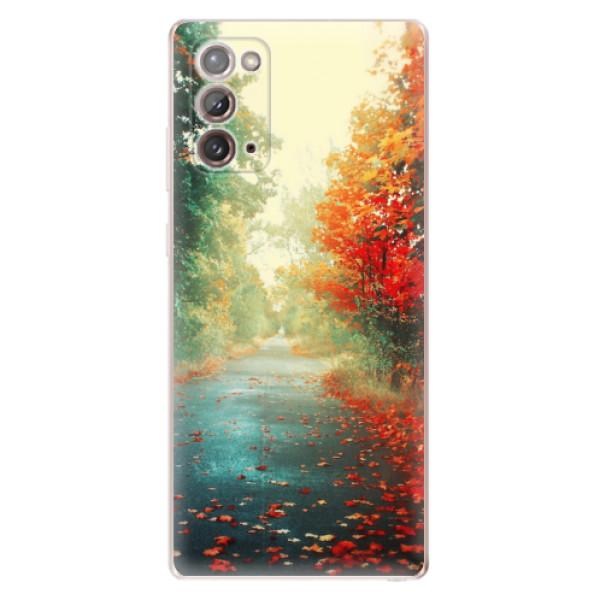 Odolné silikonové pouzdro iSaprio - Autumn 03 - Samsung Galaxy Note 20