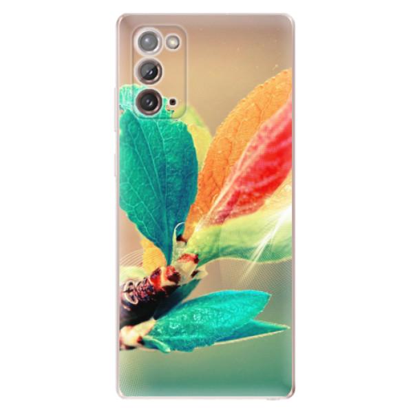 Odolné silikonové pouzdro iSaprio - Autumn 02 - Samsung Galaxy Note 20