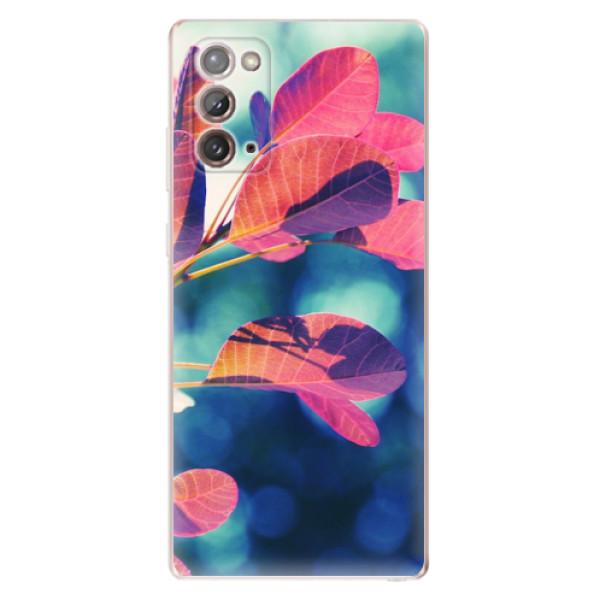 Odolné silikonové pouzdro iSaprio - Autumn 01 - Samsung Galaxy Note 20