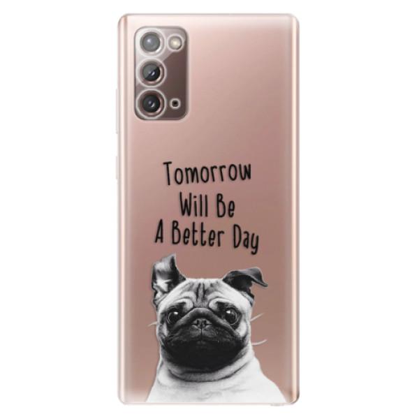Odolné silikonové pouzdro iSaprio - Better Day 01 - Samsung Galaxy Note 20