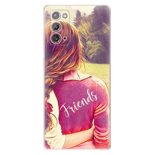 Odolné silikonové pouzdro iSaprio - BF Friends - Samsung Galaxy Note 20