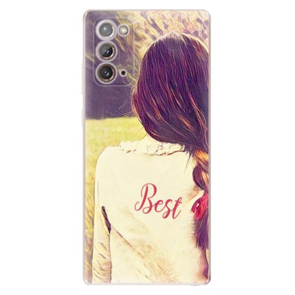 Odolné silikonové pouzdro iSaprio - BF Best - Samsung Galaxy Note 20