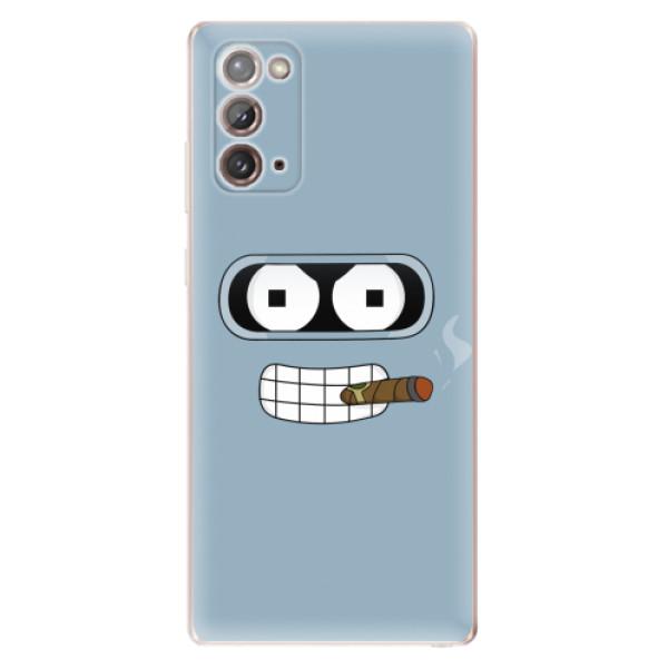 Odolné silikonové pouzdro iSaprio - Bender - Samsung Galaxy Note 20