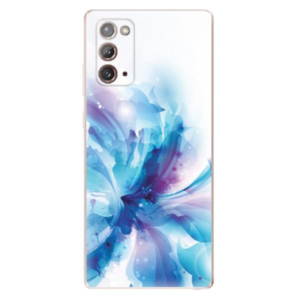 Odolné silikonové pouzdro iSaprio - Abstract Flower - Samsung Galaxy Note 20