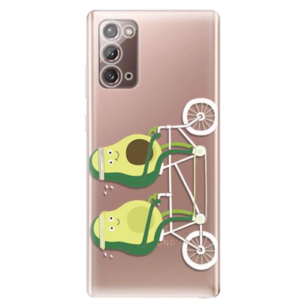 Odolné silikonové pouzdro iSaprio - Avocado - Samsung Galaxy Note 20