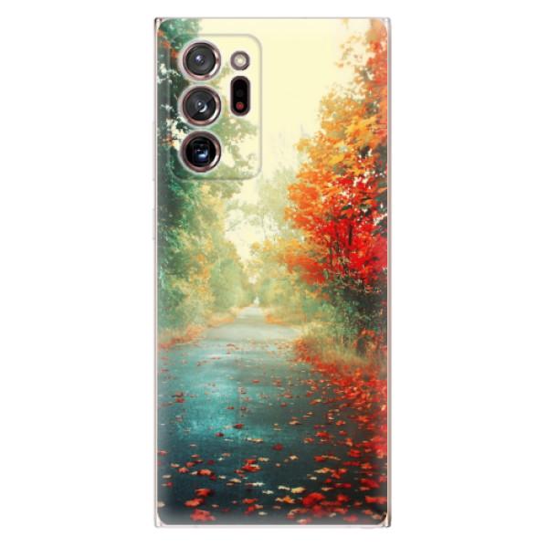 Odolné silikonové pouzdro iSaprio - Autumn 03 - Samsung Galaxy Note 20 Ultra