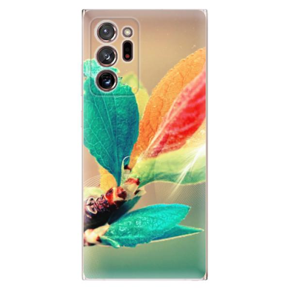 Odolné silikonové pouzdro iSaprio - Autumn 02 - Samsung Galaxy Note 20 Ultra