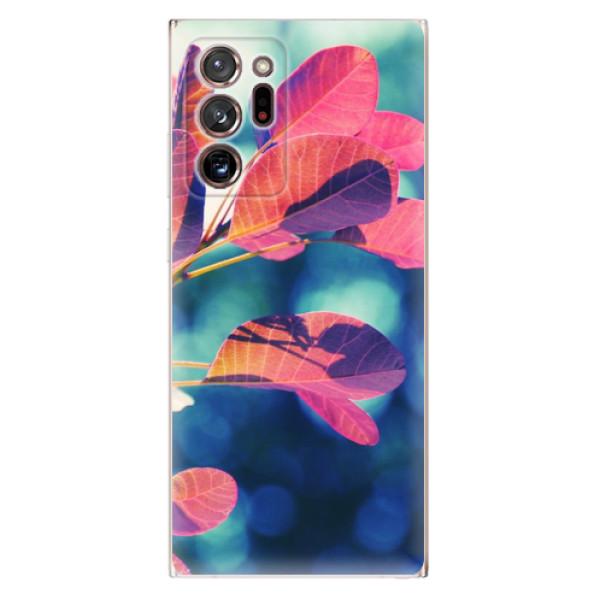 Odolné silikonové pouzdro iSaprio - Autumn 01 - Samsung Galaxy Note 20 Ultra