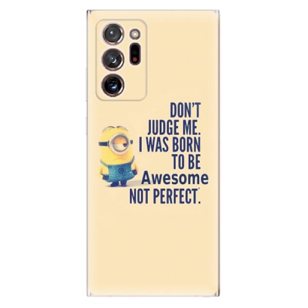 Odolné silikonové pouzdro iSaprio - Be Awesome - Samsung Galaxy Note 20 Ultra