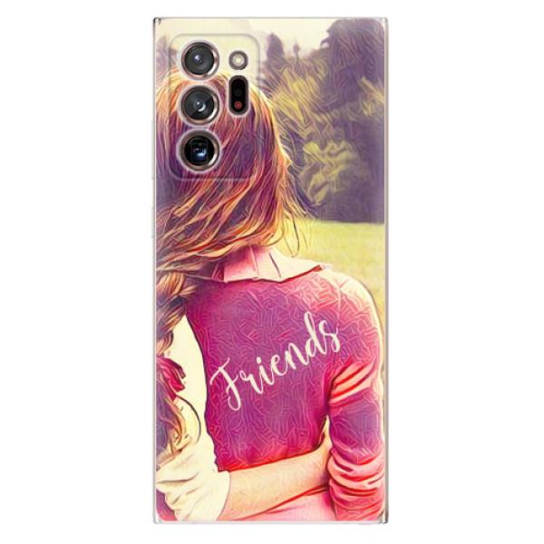 Odolné silikonové pouzdro iSaprio - BF Friends - Samsung Galaxy Note 20 Ultra