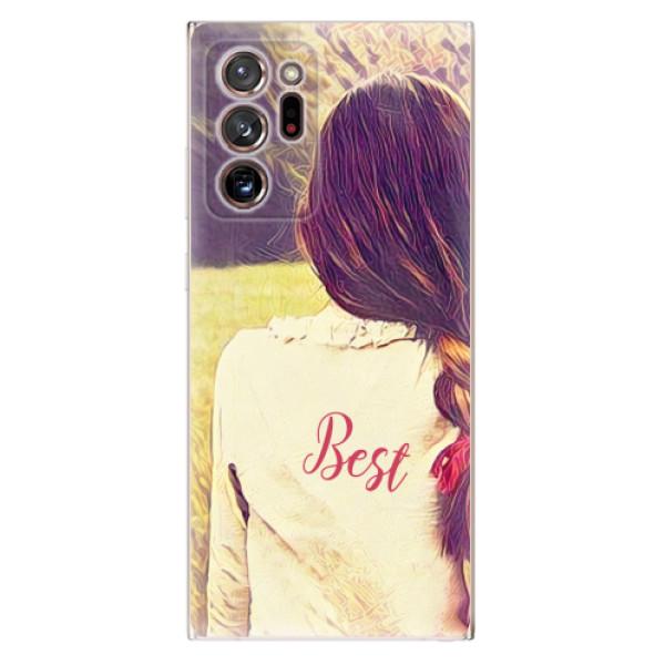 Odolné silikonové pouzdro iSaprio - BF Best - Samsung Galaxy Note 20 Ultra