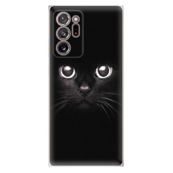 Odolné silikonové pouzdro iSaprio - Black Cat - Samsung Galaxy Note 20 Ultra