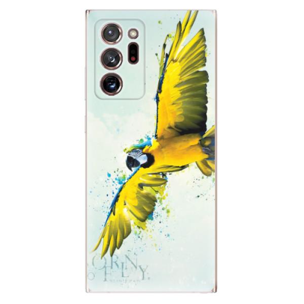 Odolné silikonové pouzdro iSaprio - Born to Fly - Samsung Galaxy Note 20 Ultra