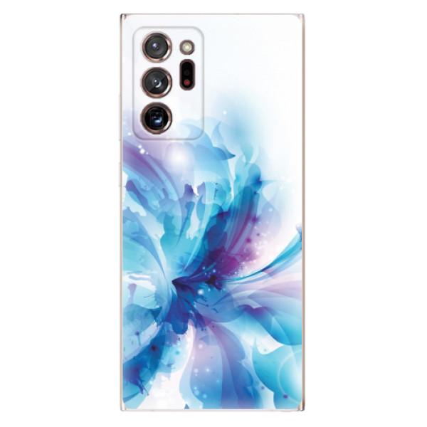 Odolné silikonové pouzdro iSaprio - Abstract Flower - Samsung Galaxy Note 20 Ultra
