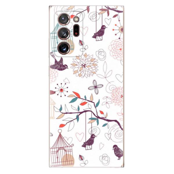 Odolné silikonové pouzdro iSaprio - Birds - Samsung Galaxy Note 20 Ultra