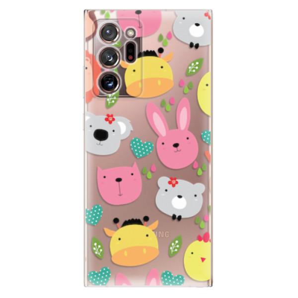Odolné silikonové pouzdro iSaprio - Animals 01 - Samsung Galaxy Note 20 Ultra