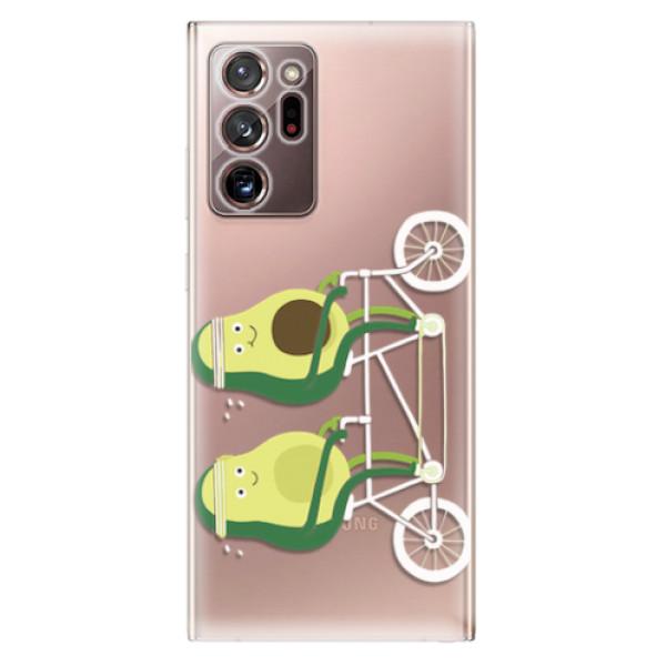 Odolné silikonové pouzdro iSaprio - Avocado - Samsung Galaxy Note 20 Ultra
