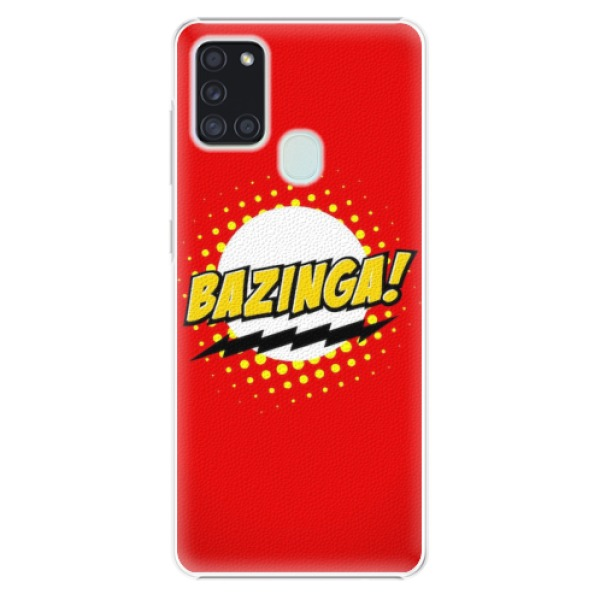 Plastové pouzdro iSaprio - Bazinga 01 - Samsung Galaxy A21s