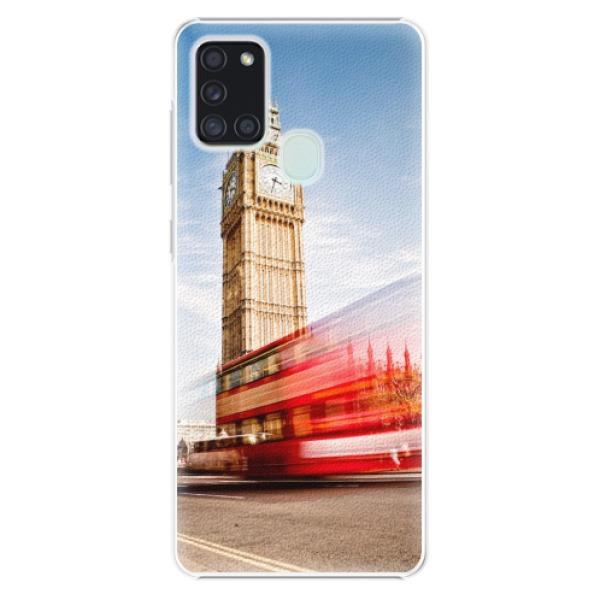 Plastové pouzdro iSaprio - London 01 - Samsung Galaxy A21s