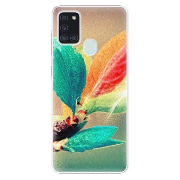 Plastové pouzdro iSaprio - Autumn 02 - Samsung Galaxy A21s