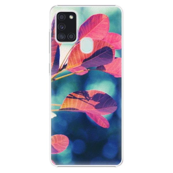 Plastové pouzdro iSaprio - Autumn 01 - Samsung Galaxy A21s