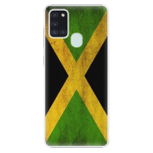 Plastové pouzdro iSaprio - Flag of Jamaica - Samsung Galaxy A21s