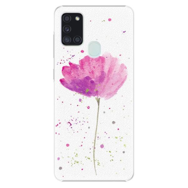 Plastové pouzdro iSaprio - Poppies - Samsung Galaxy A21s