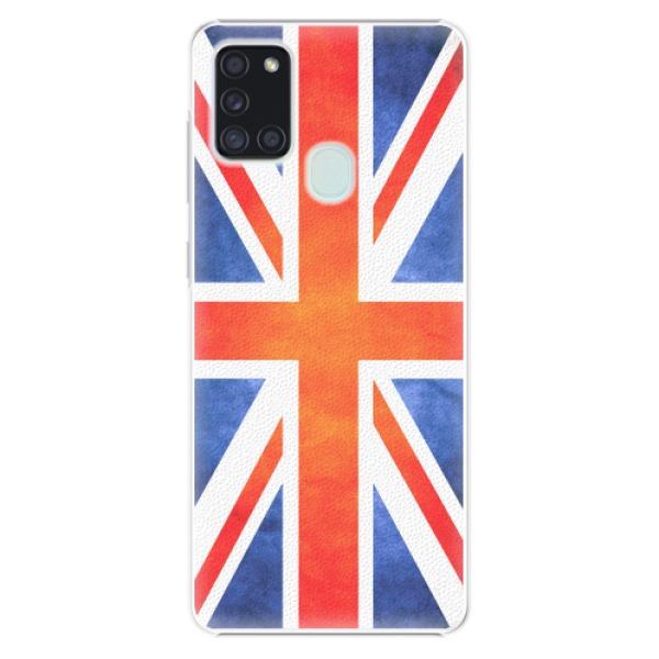 Plastové pouzdro iSaprio - UK Flag - Samsung Galaxy A21s