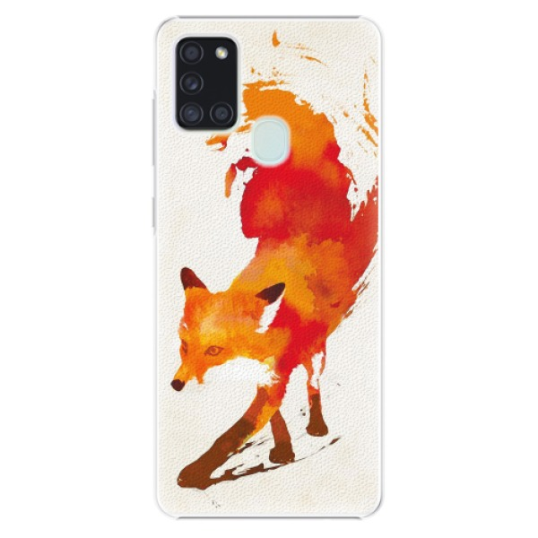 Plastové pouzdro iSaprio - Fast Fox - Samsung Galaxy A21s