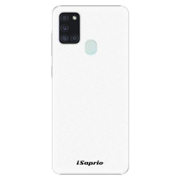 Plastové pouzdro iSaprio - 4Pure - bílý - Samsung Galaxy A21s