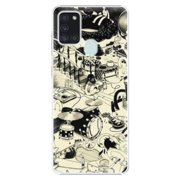 Plastové pouzdro iSaprio - Underground - Samsung Galaxy A21s