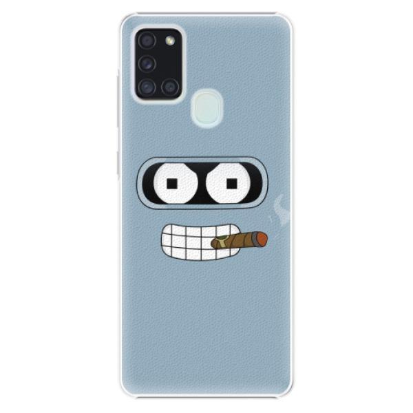 Plastové pouzdro iSaprio - Bender - Samsung Galaxy A21s
