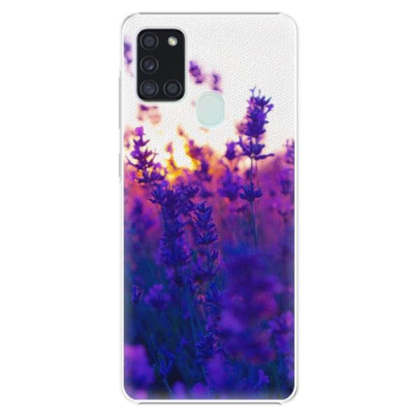 Plastové pouzdro iSaprio - Lavender Field - Samsung Galaxy A21s