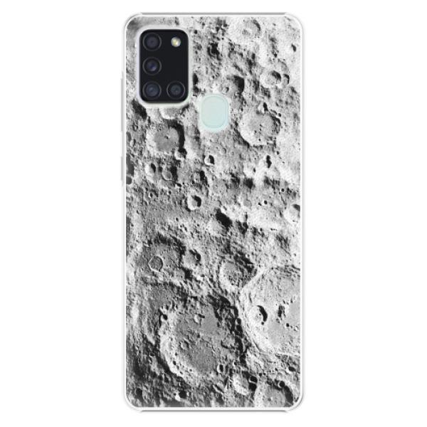 Plastové pouzdro iSaprio - Moon Surface - Samsung Galaxy A21s